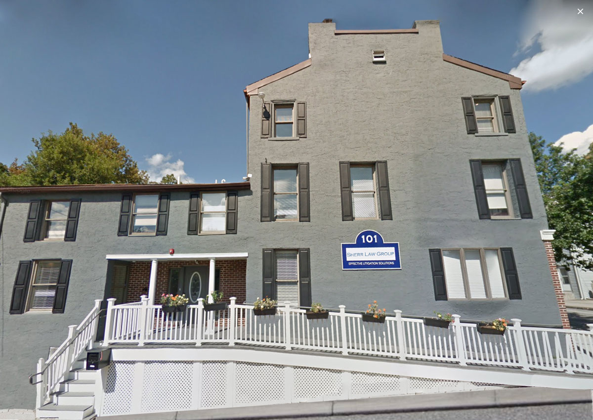 Sherr Law Group Office | Playing our Part in Norristown's Revitalization Efforts | Sherr Law Group